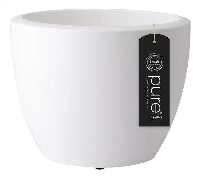 Afbeelding van Elho Bloempot Pure Soft round white diameter 50 cm from DreamLand