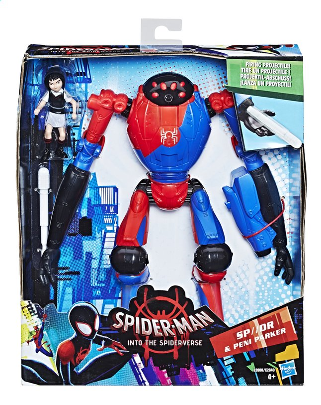 Afbeelding van Spider-Man figuur Into The Spider-Verse Deluxe - SP//DR & Peni Parker from DreamLand