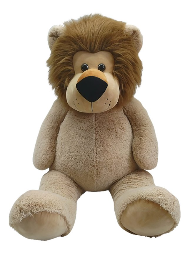 Afbeelding van Reuze knuffel leeuw zittend 135 cm from DreamLand