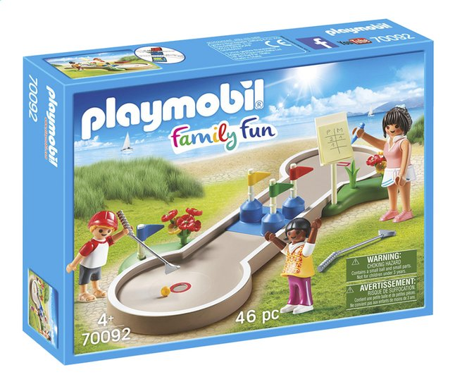 Image pour PLAYMOBIL Family Fun 70092 Mini-golf à partir de DreamLand