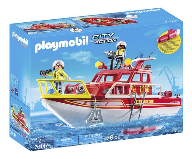 Image pour PLAYMOBIL City Action 70147 Bateau de sauvetage et pompiers à partir de DreamLand