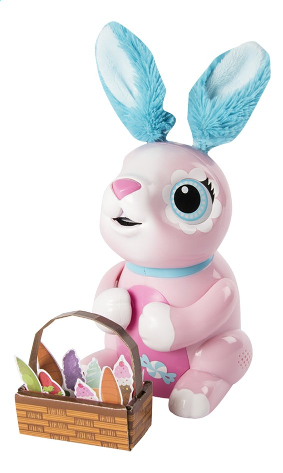 Spin Master robot Zoomer Hungry Bunnies Shreddy