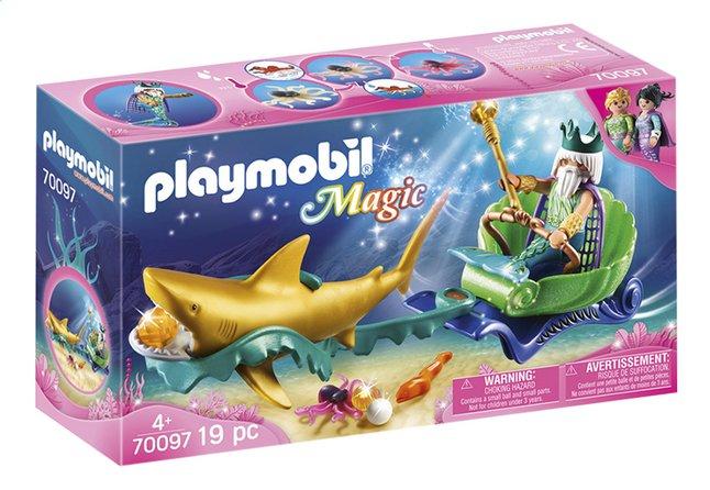 Afbeelding van PLAYMOBIL Magic 70097 Koning der zeeën met haaienkoets from DreamLand