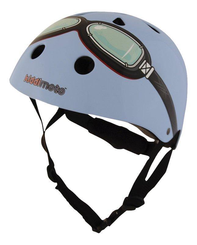 Afbeelding van kiddi moto Kinderfietshelm Blue Goggle 48 - 52 cm from DreamLand