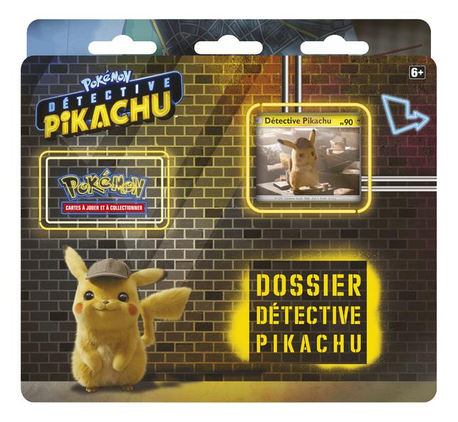 Image pour Pokémon JCC Dossier Détective Pikachu - 3 Booster à partir de DreamLand