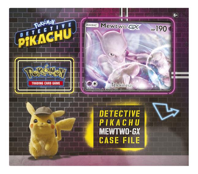 Image pour Pokémon Trading Cards Detective Pikachu GX Box Mewtwo ANG à partir de DreamLand