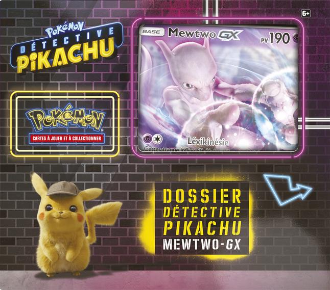 Image pour Pokémon JCC Détective Pikachu Dossier Mewtwo-GX à partir de DreamLand