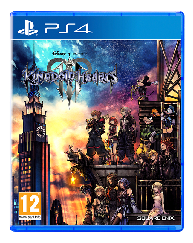 Afbeelding van PS4 Kingdom Hearts III NL/FR from DreamLand