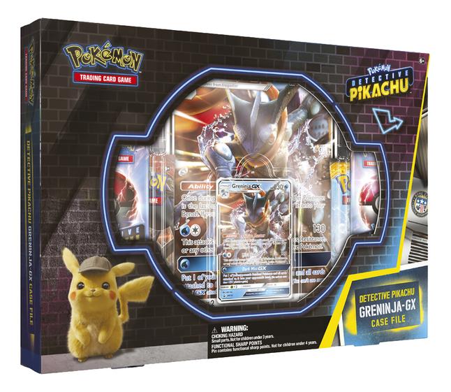 Image pour Pokémon Trading Cards Detective Pikachu Greninja-GX Case File ANG à partir de DreamLand