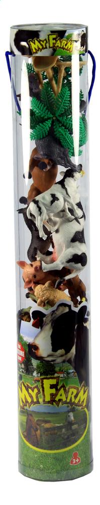 Afbeelding van Tube met boerderijdieren 56 cm from DreamLand