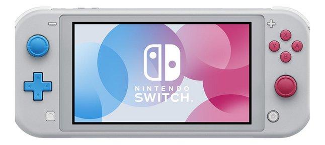 Afbeelding van Nintendo Switch Console Lite Pokémon Zacian & Zamazenta Edition from DreamLand