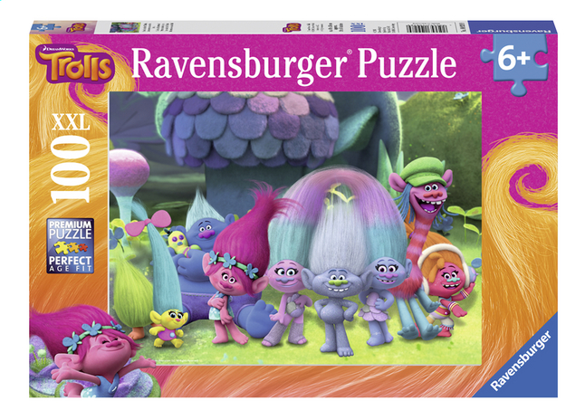 Image pour Ravensburger puzzle Trolls Amuse-toi avec les Trolls à partir de DreamLand
