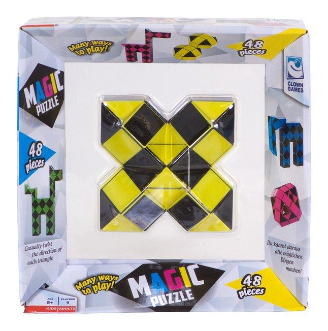 Magic Puzzle 48 stukjes geel