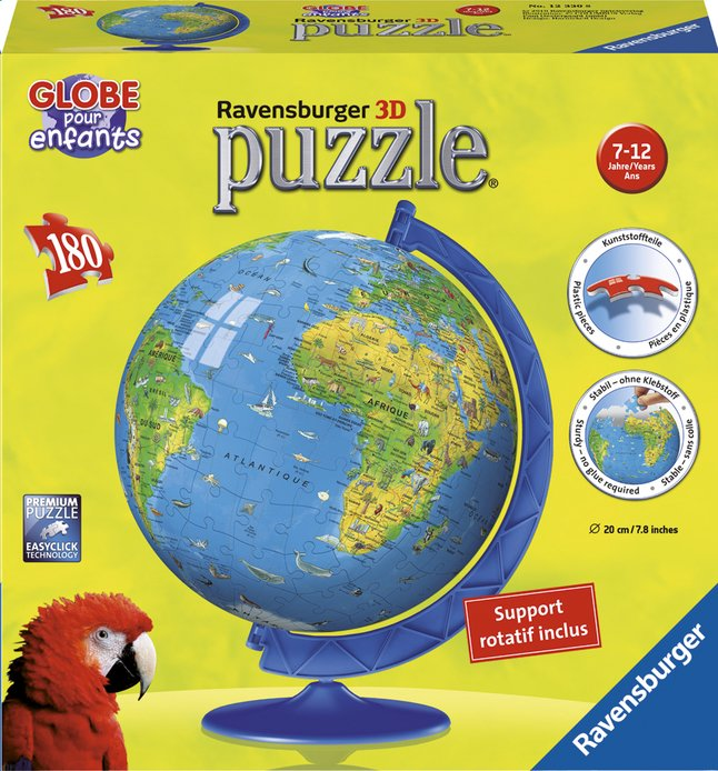 Afbeelding van Ravensburger puzzleball XXL Mappamonde FR from DreamLand
