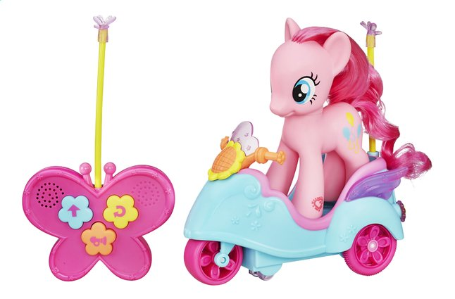 Afbeelding van My Little Pony Cutie mark magic speelset Pinkie Pie's Scooter from DreamLand