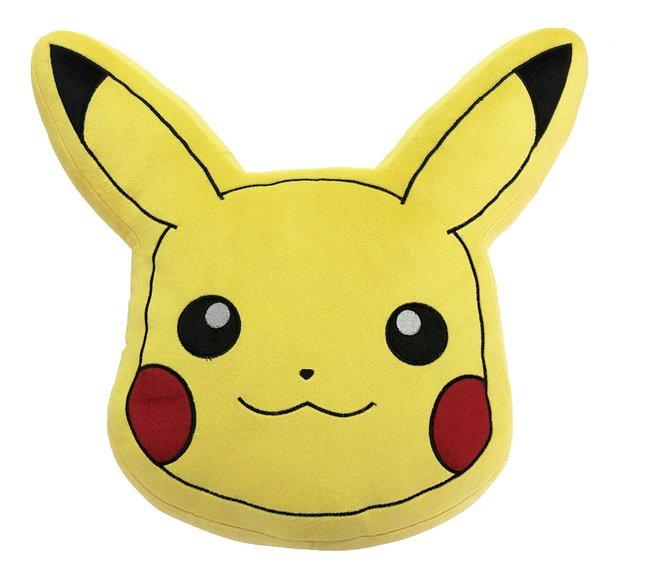 Coussin Pokémon Tête de Pikachu 40 cm