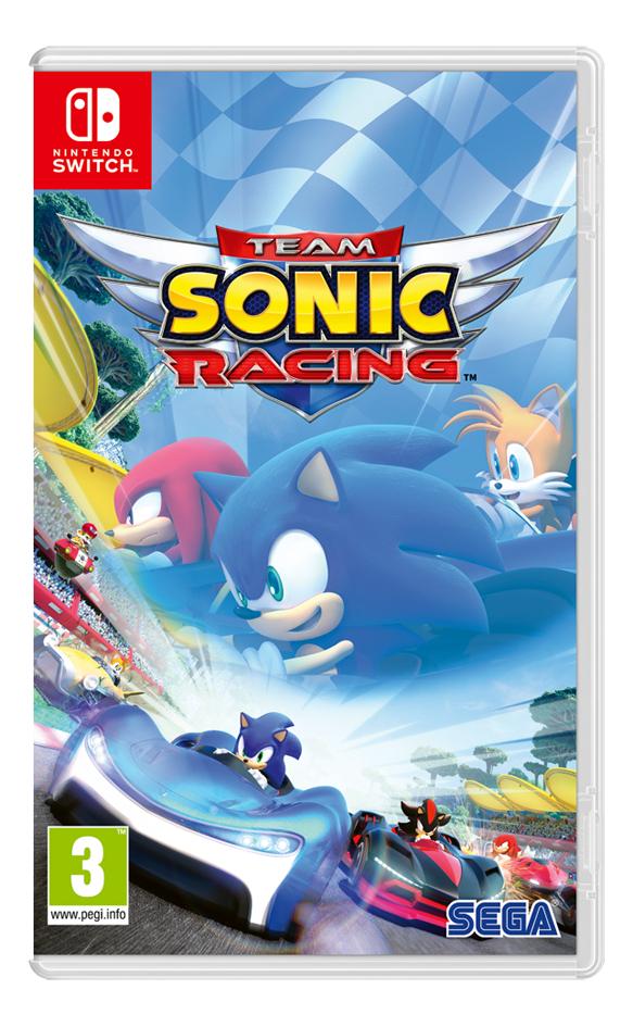 Nintendo Switch Team Sonic Racing FR/ANG