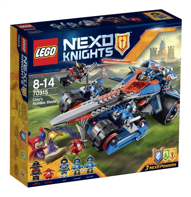 Afbeelding van LEGO Nexo Knights 70315 Clay's Zwaard from DreamLand