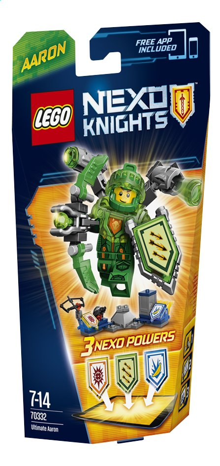 Afbeelding van LEGO Nexo Knights 70332 Ultimate Aaron from DreamLand