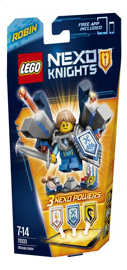 Afbeelding van LEGO Nexo Knights 70333 Ultimate Robin from DreamLand