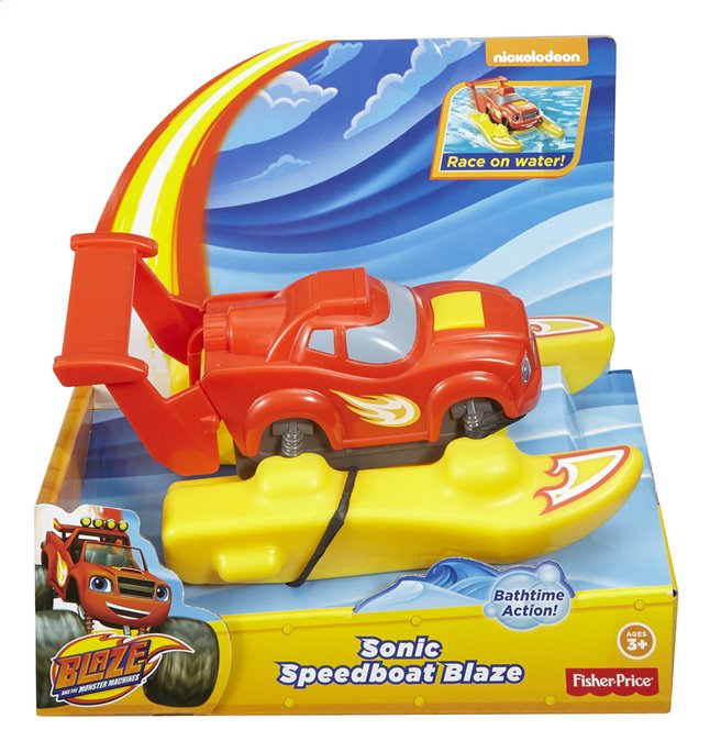 Image pour Fisher-Price Blaze et les Monster Machines Sonic Speedboat Blaze à partir de DreamLand
