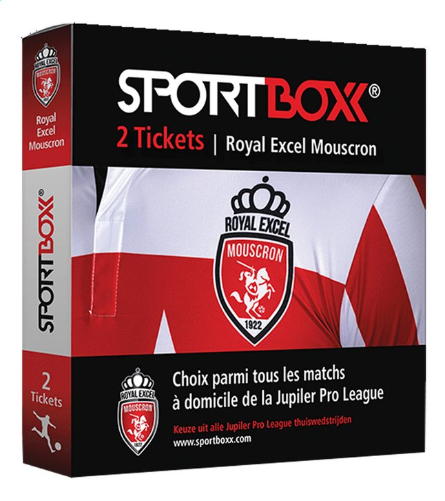 Afbeelding van Sportboxx Royal Excel Mouscron from DreamLand