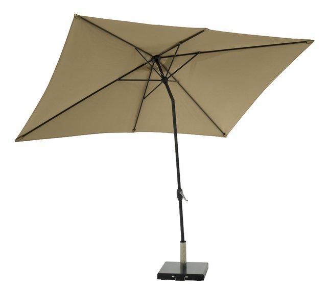 Afbeelding van Aluminium parasol 2 x 3 m taupe from DreamLand