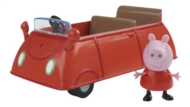 Speelset Peppa Pig auto met figuur