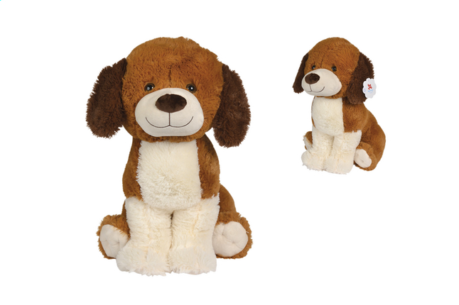 Afbeelding van Nicotoy knuffel hond donkerbruin 50 cm from DreamLand