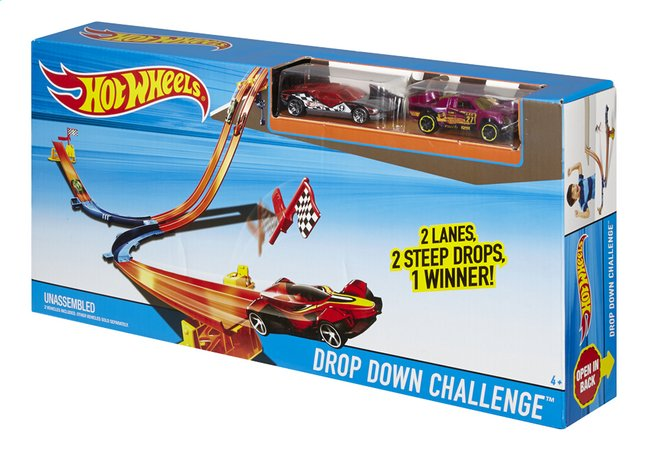 Afbeelding van Hot Wheels autobaan Drop Down Challenge from DreamLand