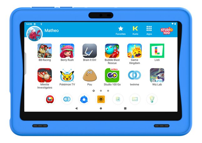 "Kurio tablet Tab Ultra 7″"" 16 GB blauw"