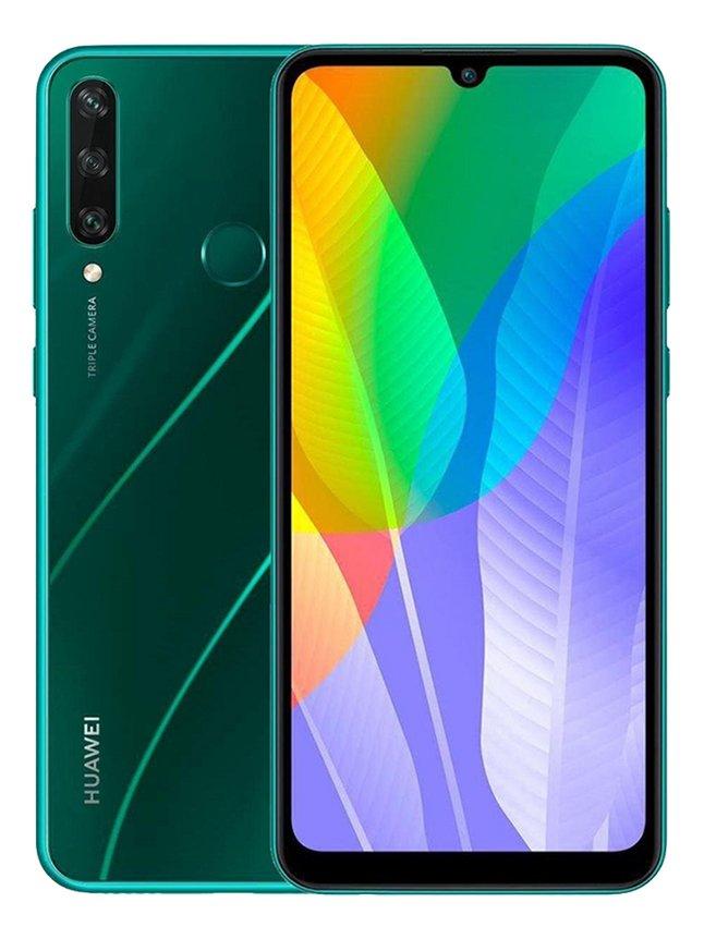Huawei smartphone Y6P Emerald Green