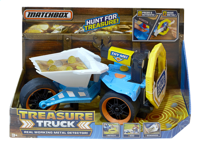 Afbeelding van Matchbox Treasure Truck from DreamLand