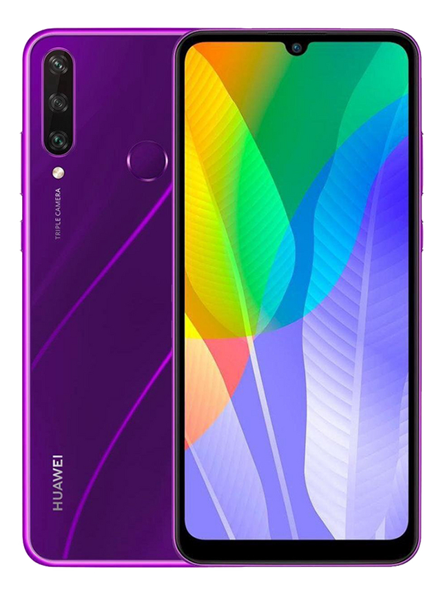 Huawei smartphone Y6P Phantom Purple