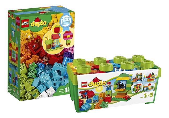 Afbeelding van LEGO DUPLO 10572 Alles in één groene doos + 10887 Creatief plezier from DreamLand