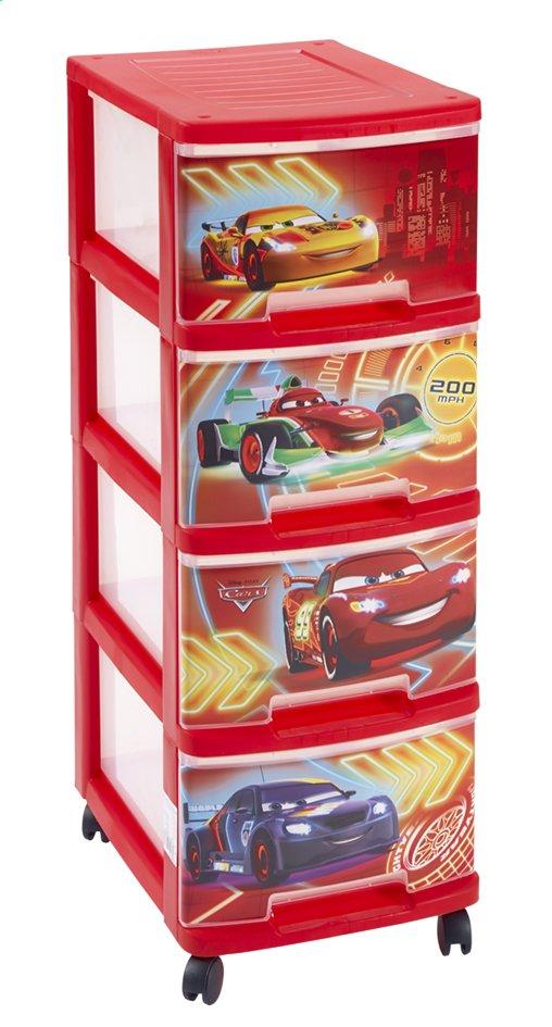Afbeelding van Curver ladekast met 4 laden Disney Cars from DreamLand
