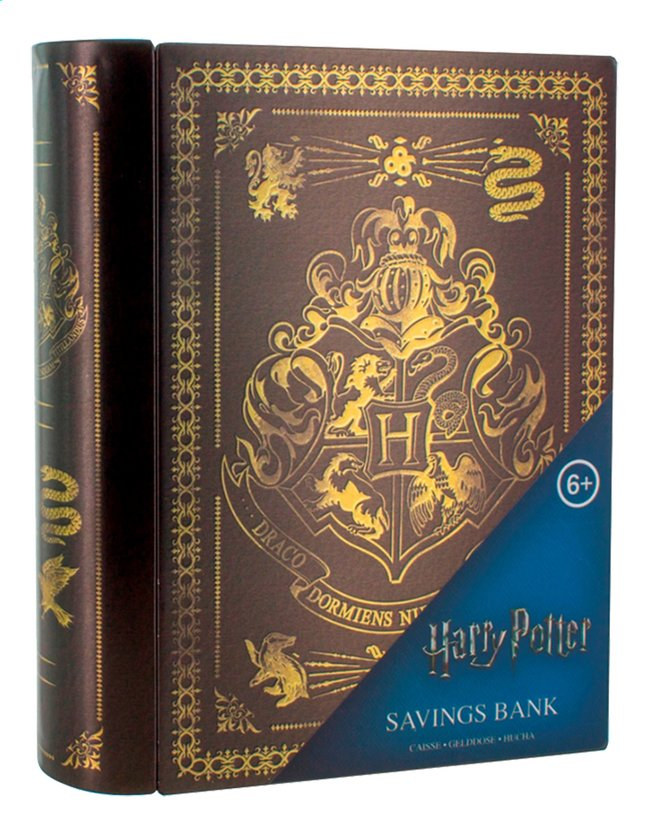 publier des informations sur nouvelle collection magasin britannique Tirelire Harry Potter Poudlard