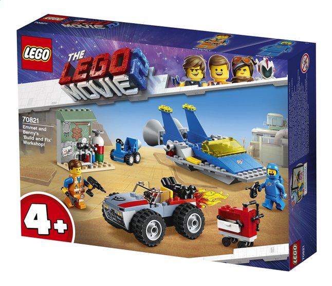 Afbeelding van LEGO The LEGO Movie 2 70821 Emmets en Benny's bouw- en reparatiewerkplaats from DreamLand