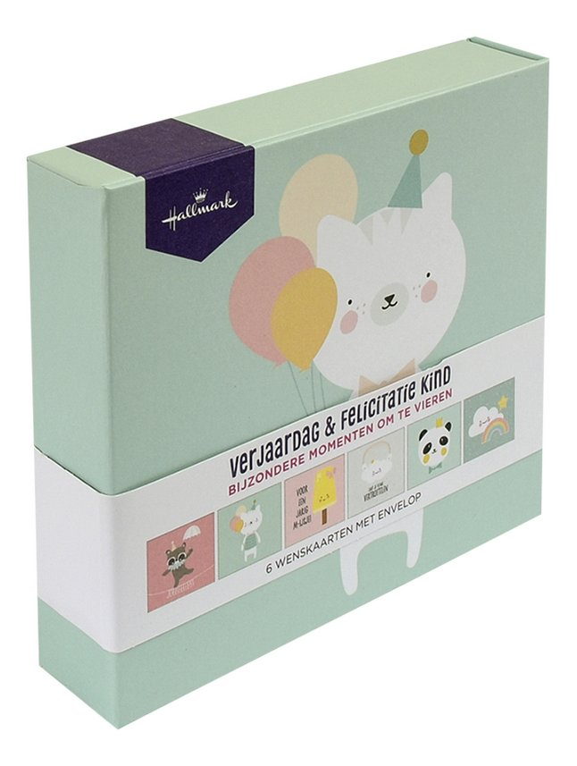 Afbeelding van Hallmark wenskaarten in box - Verjaardag & felicitatie kids from DreamLand