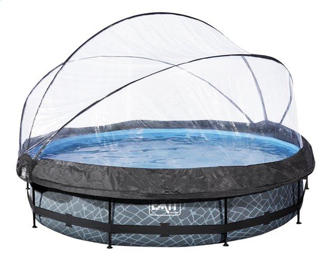 Afbeelding van EXIT zwembad Stone met overkapping Ø 3,6 m from DreamLand