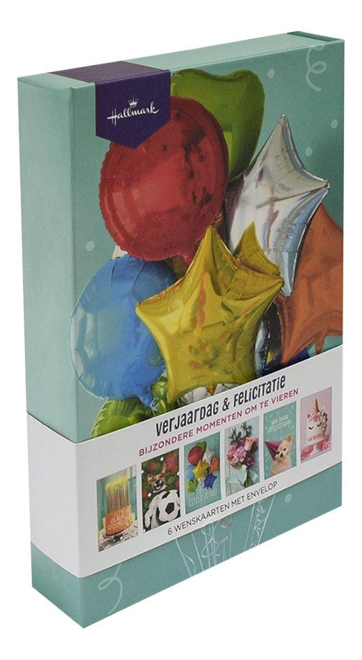 Hallmark wenskaarten in box - Verjaardag & felicitatie