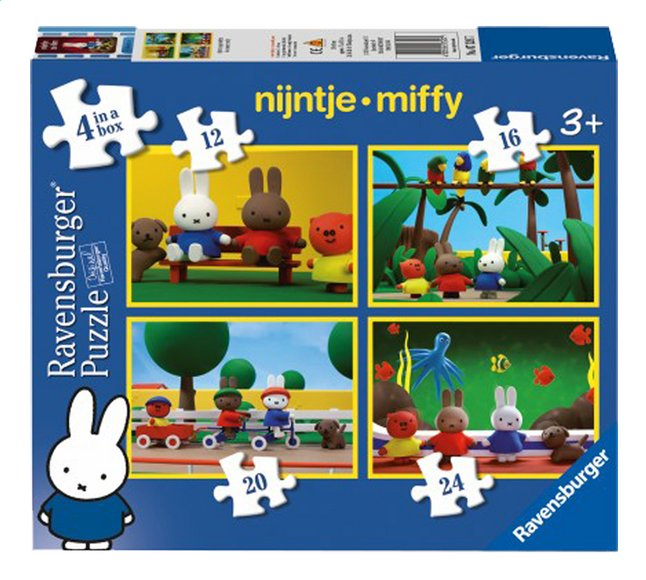 Image pour Ravensburger puzzle évolutif 4 en 1 Miffy Le Film à partir de DreamLand