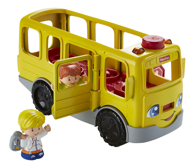 Afbeelding van Fisher-Price Little People Sit with me School Bus from DreamLand