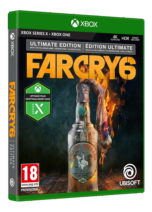 Xbox Far Cry 6 Ultimate Edition ENG/FR