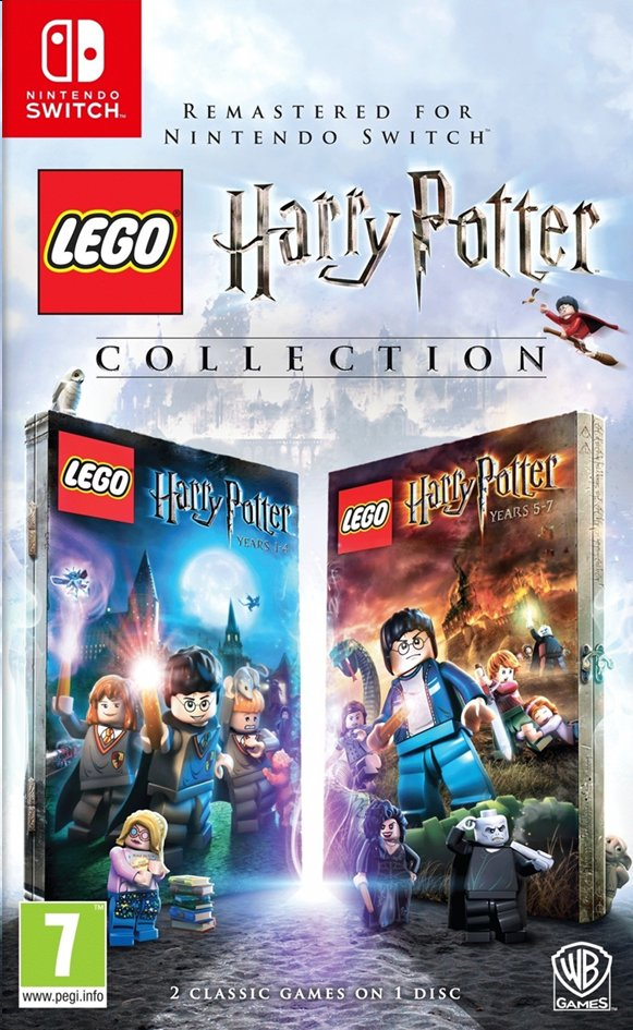 Nintendo Switch LEGO Harry Potter Collection Years 1-7 FR/NL