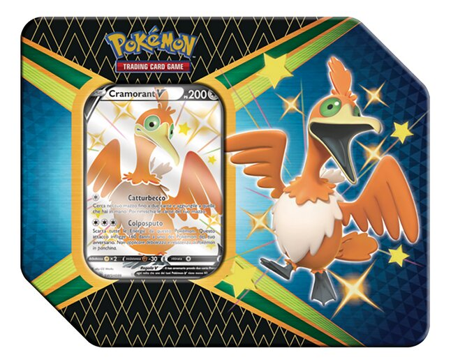 Pokémon TGC Sword & Shield 4.5 Shining Fates - Cramorant ANG