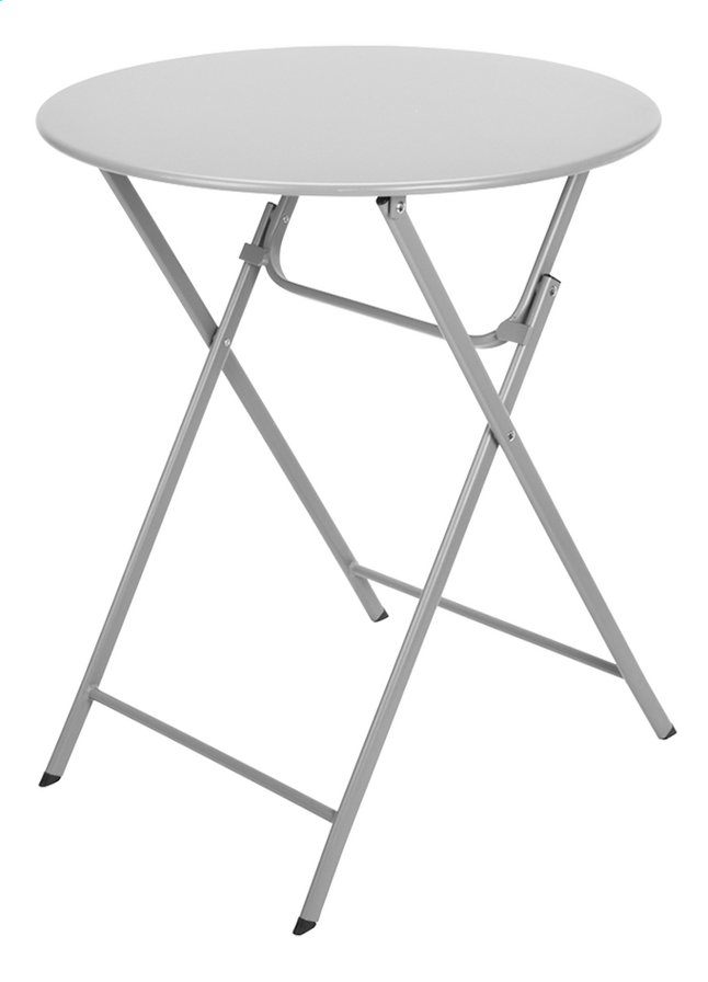 Afbeelding van Bistrotafel diameter 60 cm lichtgrijs from DreamLand