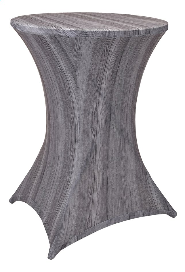 Afbeelding van Stretchhoes voor statafel diameter 80 cm grijs from DreamLand
