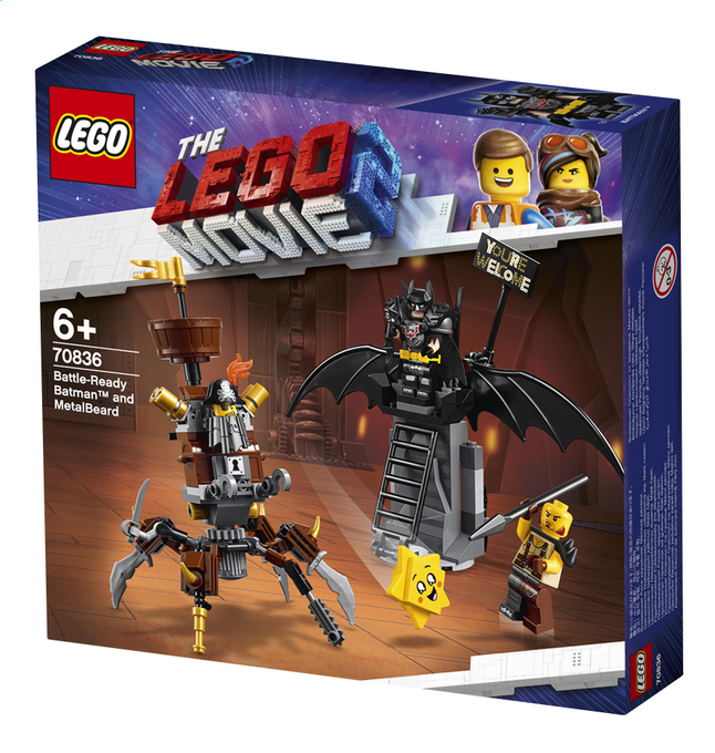 Afbeelding van LEGO The LEGO Movie 2 70836 Gevechtsklare Batman en Metaalbaard from DreamLand