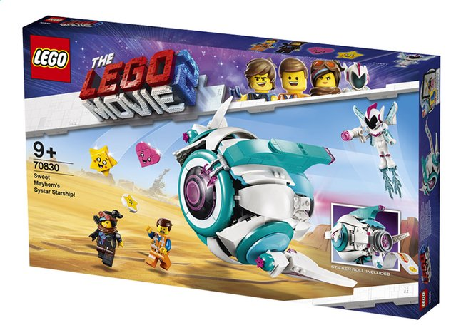 Afbeelding van LEGO The LEGO Movie 2 70830 Lieve Chaos' Systar ruimteschip from DreamLand